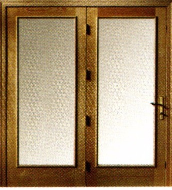 Hinged door center hinged doors neuma doors for Center hinged patio doors